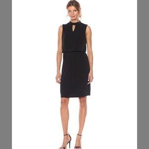 (NWOT) Nine West women's keyhole black dress